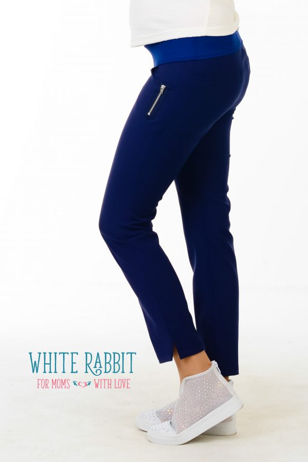 City pants navy blue 5